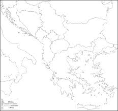 Blank Maps Of Europe To Print by Balkans Free Map Free Blank Map Free Outline Map Free Base Map
