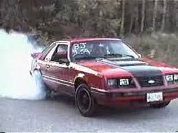 83 mustang gt for sale 1983 mustang gt burnout