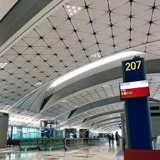 Hong Kong International Airport Floor Plan Midfield Concourse Of Hong Kong International Airport Becomes