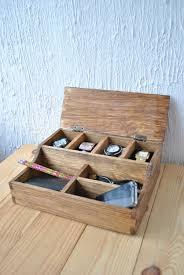 Desk Organizers Wood by Desk Organizer Wood Organizer Rustic Men U0027s Watch Box For 4