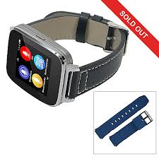 smartwatch android bit 1 5 lcd touchscreen smartwatch for android or ios w 2 straps