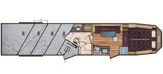 8 ft wide 13 13 living quarters trailer floor plan trails west