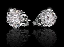 diamond earrings price how big is a one carat diamond price one carat engagement