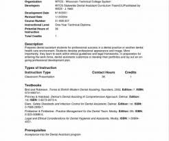 example resume for dental assistant study picture examples