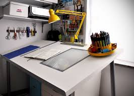 How To Make A DIY Adjustable Drafting Table From Any Desktop Art - Designer drafting table