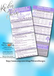 printable disney planning guide perfect for welcome bags for the guests disney destination wedding