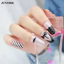 black design nails images nail art designs
