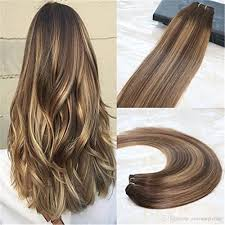 real hair extensions real hair weft human hair extensions balayage ombre remy
