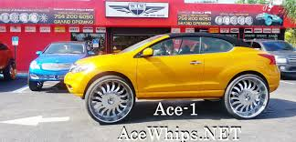 nissan armada on 28s ace 1 candy teal bmw x6 on 30