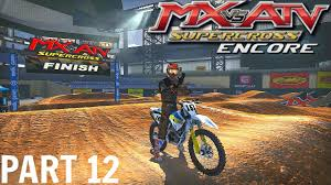atv motocross mx vs atv supercross encore gameplay walkthrough part 12