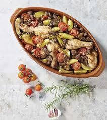 colruyt recettes de cuisine pilons de poulet grenailles et chignons au four colruyt