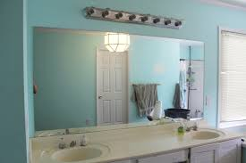 Mirror Wall In Bathroom 30 Best Ideas Of Wall Mirrors Without Frame For Wall Mirror