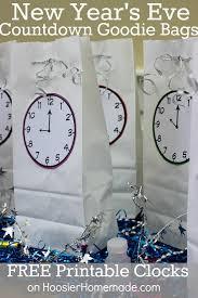 new year goodie bag new year s countdown goodie bags hoosier