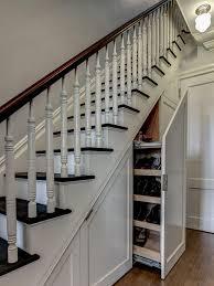 kitchen room under stair storage tool under stairs storage