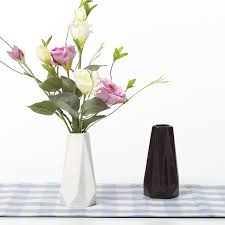 White Decorative Vase Aliexpress Com Buy The Edges U0026 Corners Vases Ceramic White Black