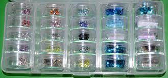 my nail graffiti nail art supply storage container