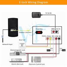 door buzzer system wiring diagram door lock diagram door alarm