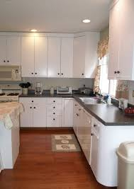 paint over 80s laminate cabinets kitchen pinterest laminate