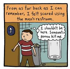 five trans cartoonists respond to bathroom hysteria by the response