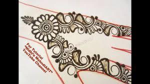 simple arabic henna mehndi designs for hand diy and trendy henna