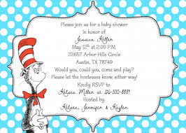dr seuss baby shower invitations home design