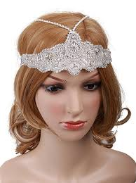 vintage headbands 1920s style flapper headbands headdresses wigs