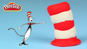 play doh cat in the hat easy youtube