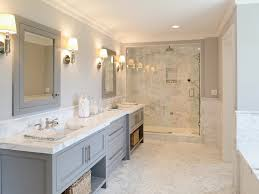 Gray Bathroom - gray bathroom contemporary bathroom blue water home builders