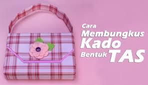 tutorial membungkus kado simple cara membungkus kado bentuk tas how to a wrap gift a bag style