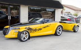 chrysler prowler for sale 2000 two tone plymouth prowler u0026 matching trailer