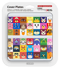 happy everything plates photos of the animal crossing new 3ds cover plates nintendo