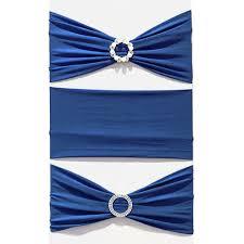 spandex sashes spandex chair sash royal blue faraway event rentals koh samui