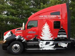kenworth houston u s capitol christmas tree will be delivered by kenworth