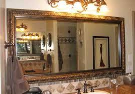 bathroom mirror trim ideas bathroom mirror border ideas bathroom mirror ideas for