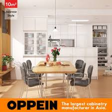 china 10 square meters japanese style galley kitchen design op16