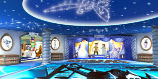 wonderful themes boy and girl bedroom decorating ideas interior kids room disney frozen wall mural elsa decorating dream photo gallery small world vacations intended for