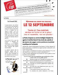 heure ouverture bureau de poste la poste réforme du droit du travail le 12 septembre toutes et