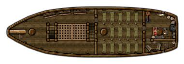 Boat Floor Plans Man U0027s Promise Middle Deck By Ronpeppermd On Deviantart Fantasy