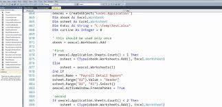 vb net excel how to fix error select method of range class