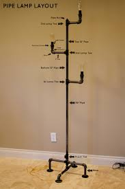 Pvc Pipe Floor Flange by How To Make An Industrial Pipe Floor Lamp How About Orange