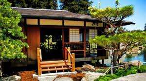 Japan House Interior With Wonderful Garden AllstateLogHomes