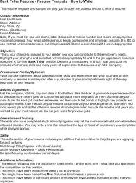 resume skills for bank teller teller resume bank teller resume