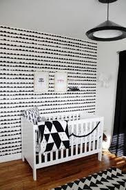 chambre enfant noir et blanc le papier peint noir et blanc est toujours un singe d élégance