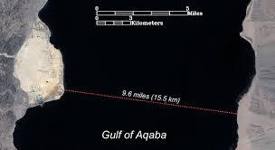 Gulf Of Aqaba Map The Sea Of The Exodus Ancient Exodus