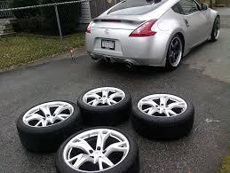 Nissan 350z New - f s new 2012 370z 19inch rays wheels tires nissan 350z forum
