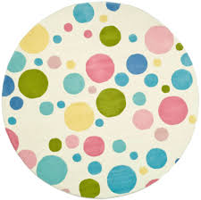 Kids Polka Dot Rug by Rug Soh753a Soho Area Rugs By Safavieh