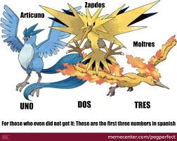 Meme Names List - spanish numbers in legendary pokémon names by pegperfect meme center