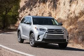 used car toyota highlander 2017 toyota highlander reviews and rating motor trend