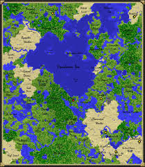 The World Map Labeled by Pandora U0027s Box Awesome World Seed Detailed Map Minecraft Project