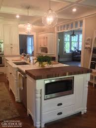 butcher block kitchen island walnut butcher block kitchen island tops custom crafted by grothouse